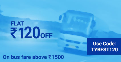 Rishi Travels (Extra Time) deals on Bus Ticket Booking: TYBEST120