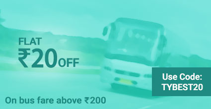 Rishi Travels (Extra Time) deals on Travelyaari Bus Booking: TYBEST20