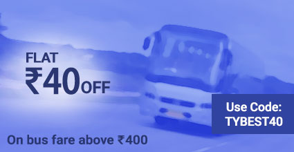 Travelyaari Offers: TYBEST40 from Roorkee to Nathdwara