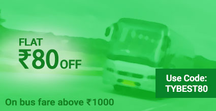 Rishi Travels (Extra Time) Bus Booking Offers: TYBEST80