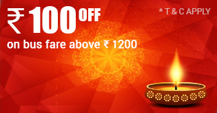 Diwali Bus Offer Travel100 RJ Travels