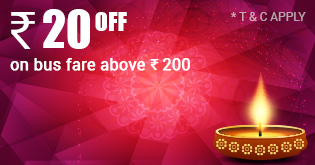 Diwali Bus Deals Travel20 RJ Travels