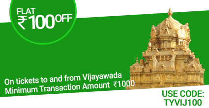 Kanak Travels (Shahibaugh) Bus ticket Booking to Vijayawada with Flat Rs.100 off